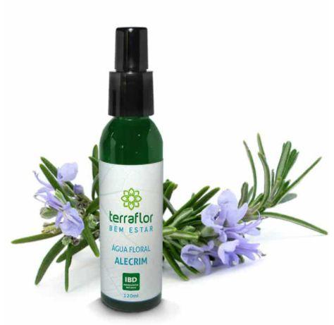 Hidrolato /Água Floral Alecrim 120ml - Terra Flor