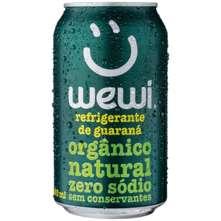 Guaraná refrigerante orgânico Wewi 350ml