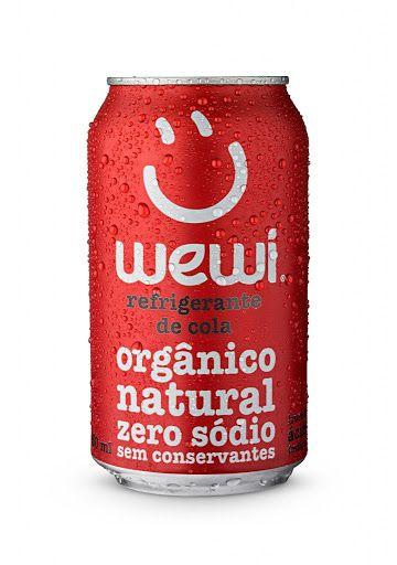 Refrigerante orgânico Cola Wewi 350ml