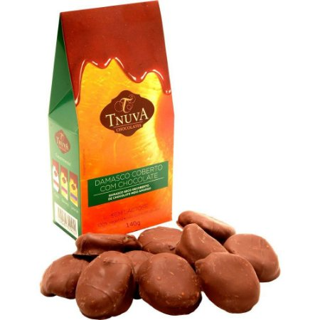 Damasco ao chocolate 140g Tnuva