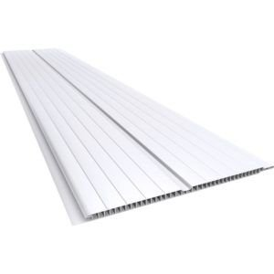 Forro de PVC MADEX 8mm x 20cm x 3.00m Branco Gelo (PC)