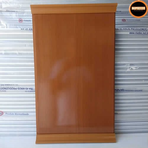 Forro de PVC MADEX 8mm x 20cm x 4.0 m MOGNO BRILHO (PC)