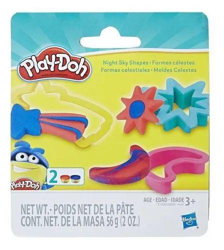 Massinha Play-Doh Kit Moldes Celetes - Hasbro E0801