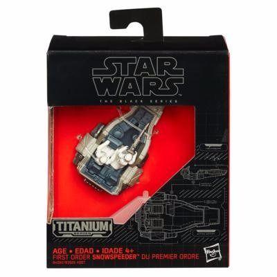 Veículo Star Wars The Black Series Titanium - Blackser Die Cast - Snowspeeder