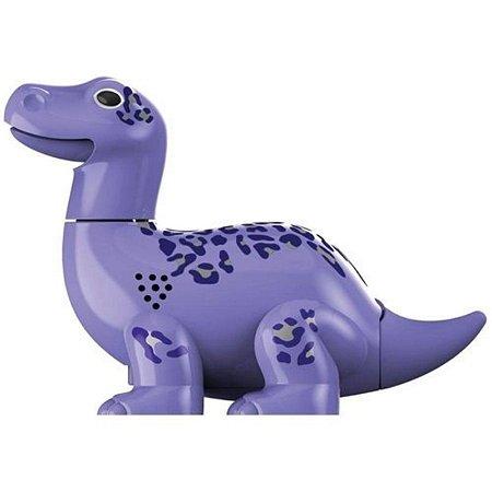 Digidino Brontossauro: Ruge, Canta e Mexe - DTC Roxo