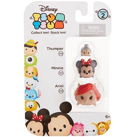 Tsum Tsum Minifiguras: Ariel, Minnie e Thumper