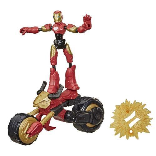 Boneco Bend e Flex Avengers Homem de Ferro - Hasbro F0244