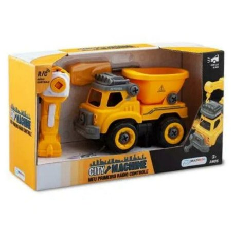 City Machine Caminhão de Construção Multikids - BR1082