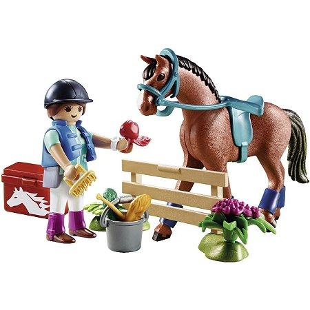 Playmobil Playset Gift Set Fazenda dos Cavalos - Sunny 2547