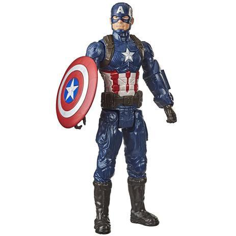 Boneco Avengers Capitão América Titan Hero Hasbro - F1342
