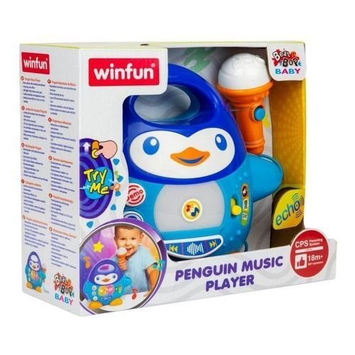 Brinquedo Pinguim Musical WinFun - Yes Toys 2514