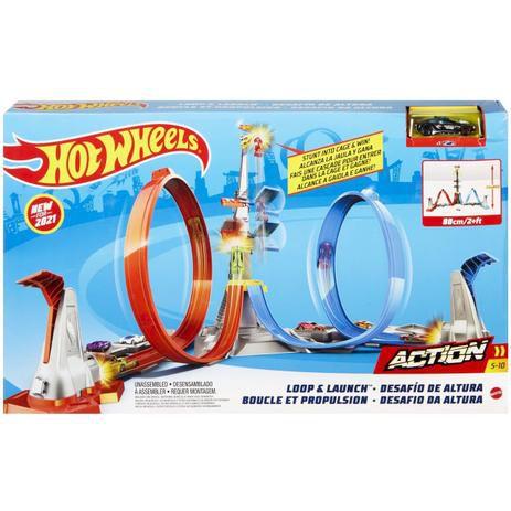 Hot Wheels Conjunto de Pistas Desafio da Altura - Mattel GRW39