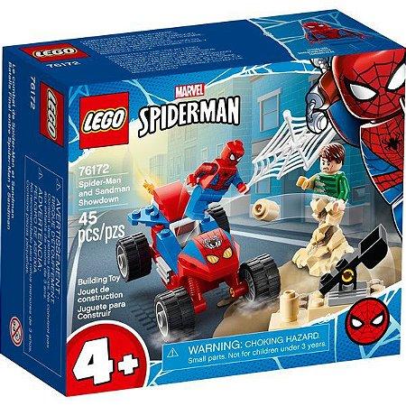 LEGO Marvel Homem-Aranha Confronto Homem-Aranha e Sandeman