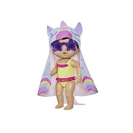 Boneca Baby Alive Dia De Sol Hasbro - Morena