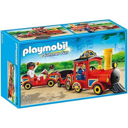 Playmobil Parque de Diversões Trenzinho com Crianças - Sunny 5549
