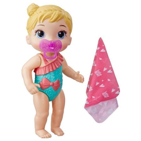 Boneca Baby Alive Hora do Banho Banhos Carinhosos Hasbro - Loira