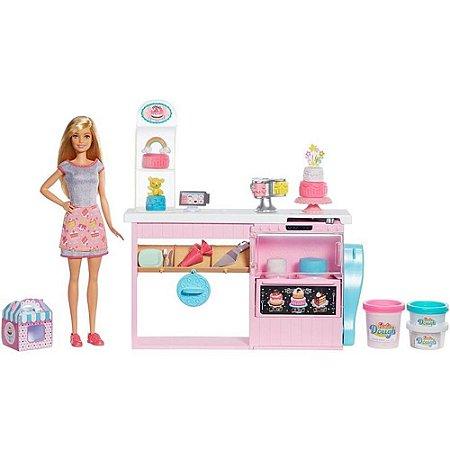 Boneca Barbie Profissões CHEF de Bolinhos Mattel - GFP59