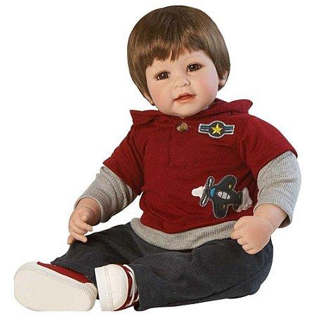 Boneca Bebê Reborn Adora Doll Up Up and Away Boy - Menino