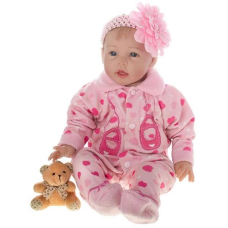 Boneca Laura Doll Baby Friend Love - Bebê Reborn - Shiny Toys