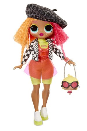Boneca LoL Surprise Neonlicious O.M.G. Fashion Doll com 20 Surpresas!