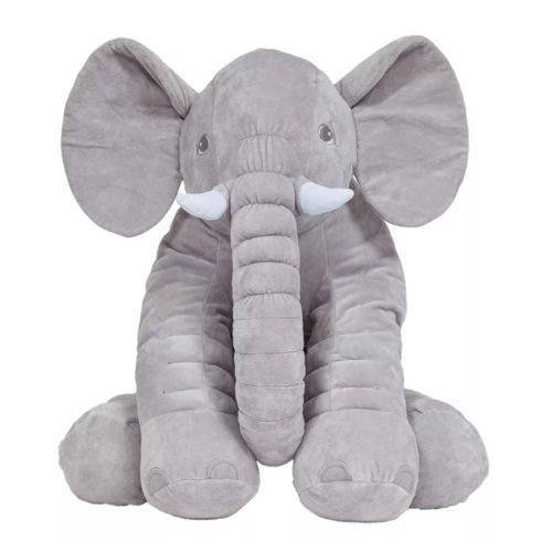 Almofada Elefante Gigante Cinza – Buba