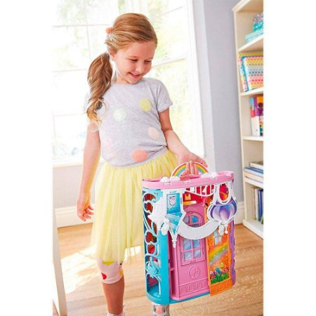 Barbie Castelo De Arco Íris Dreamtopia - Mattel
