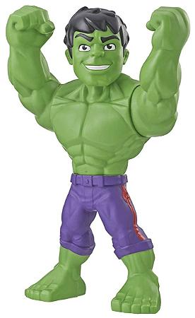 Boneco do Hulk - Marvel Super Hero Adventures Playskool Mega Mighties