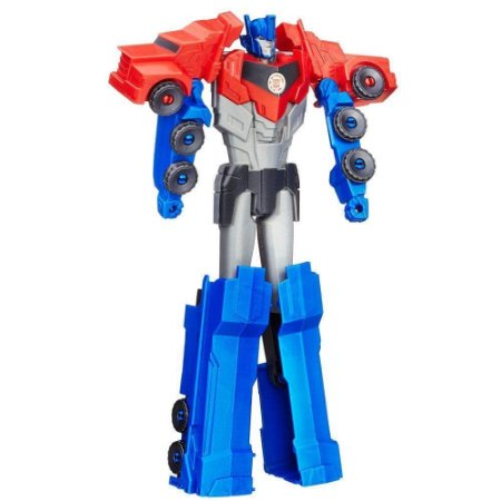 Boneco Transformers - Optimus Prime - Titan Changers - Robots In Disguise - Hasbro