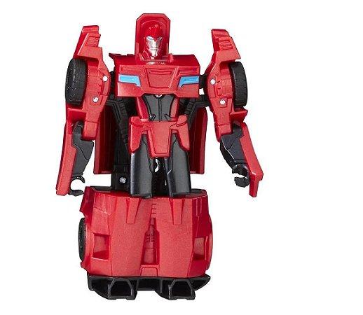 Boneco Transformers Combiner Force SidesWipe - Hasbro