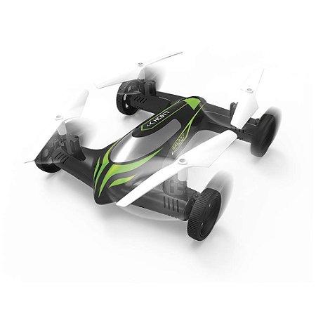 Drone com Modo Quadricóptero e Carro Sky Car Polibrinq - 1063