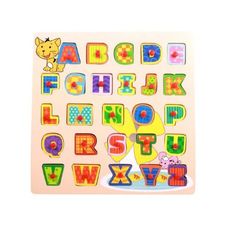 Encaixe e Brinque - Letras - Dican