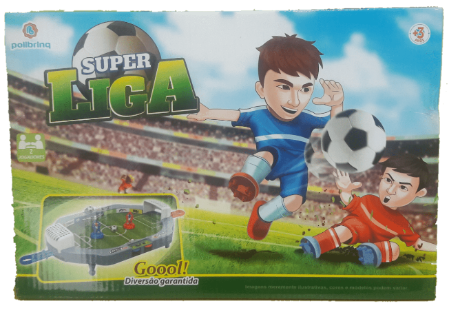 Jogo de Futebol Super Liga Polibrinq - 506