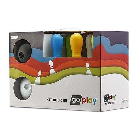 Kit Boliche Go Play Com 6 Pinos - Multikids