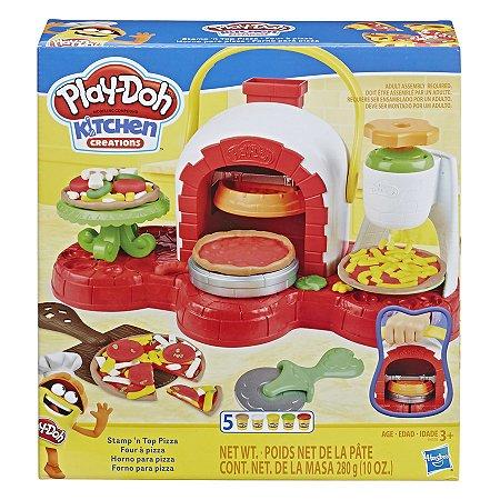 Kit de Massinha de Modelar Play Doh - Forno de Pizza - Hasbro