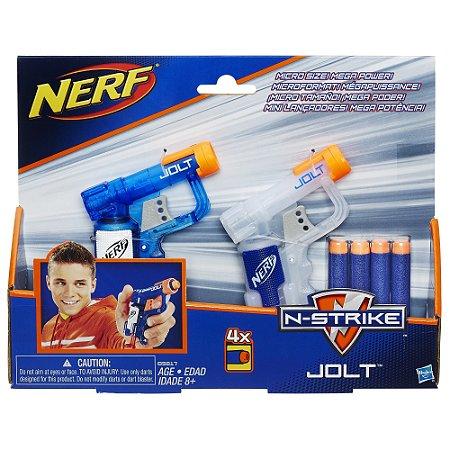 Kit Nerf Elite Jolt Dardo com 2 Lançadores Hasbro - B5817