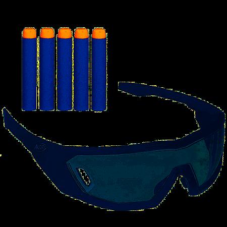 Kit Nerf Strike Elite Óculos Vision Gear + 5 Dardos - Hasbro