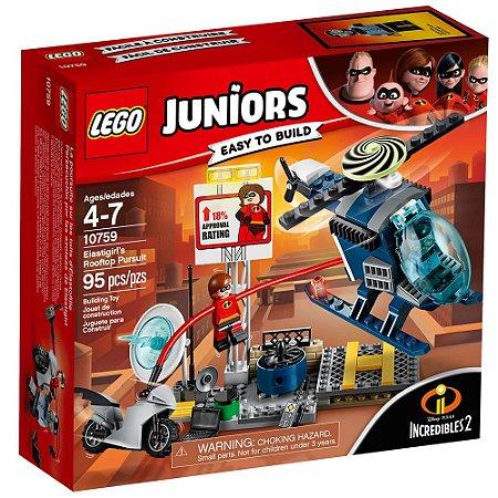 LEGO Juniors Os Incríveis 2 Perseguição no Telhado Senhora Incrível