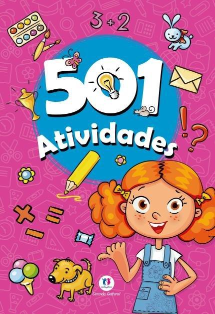 Livro 501 Atividades - Ciranda Cultural