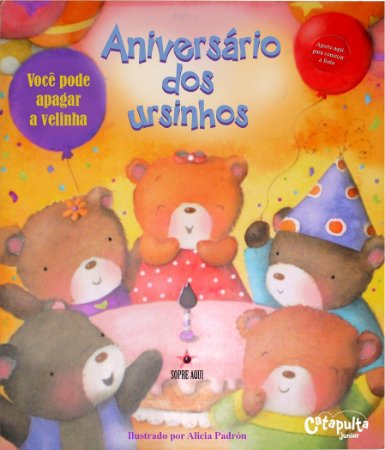 Livro Aniversário dos Ursinhos