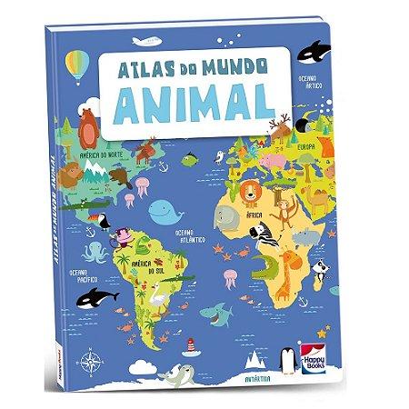 Livro Atlas do Mundo Animal