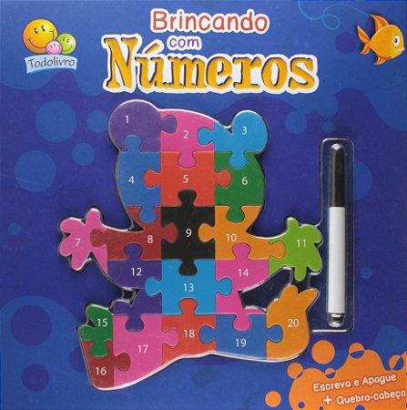 Livro Brincando Com Números - Brinque e Aprenda