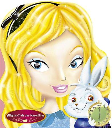 Livro Cartonado Alice no País das Maravilhas - Contos Clássicos