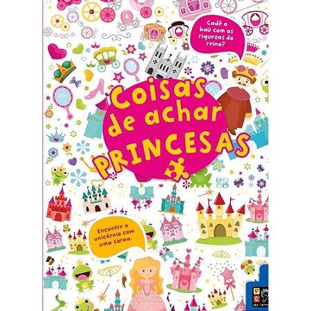 Livro Coisas Para Achar Princesas