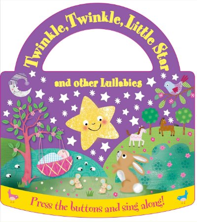 Livro com som - Twinkle twinkle little star and other lullabies