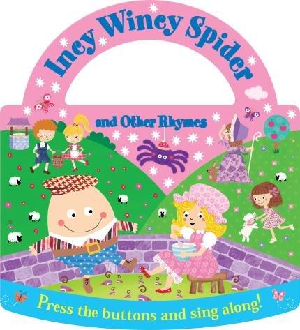 Livro com som Incy Wincy Spider