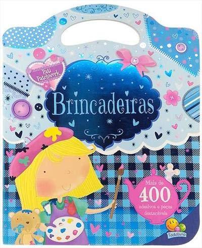 Livro de Adesivos Bolsinha Brincadeiras - Pati Patchwork
