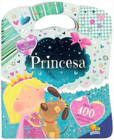 Livro de Adesivos Bolsinha Princesa - Pati Patchwork