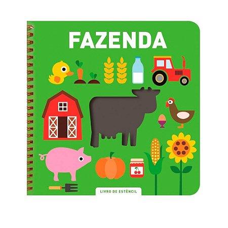 Livro de Estêncil Fazenda