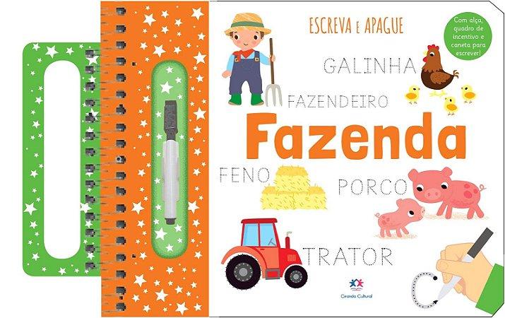 Livro Escreva e Apague - Fazenda