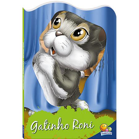 Livro Gatinho Roni - Amiguinhos Recortados